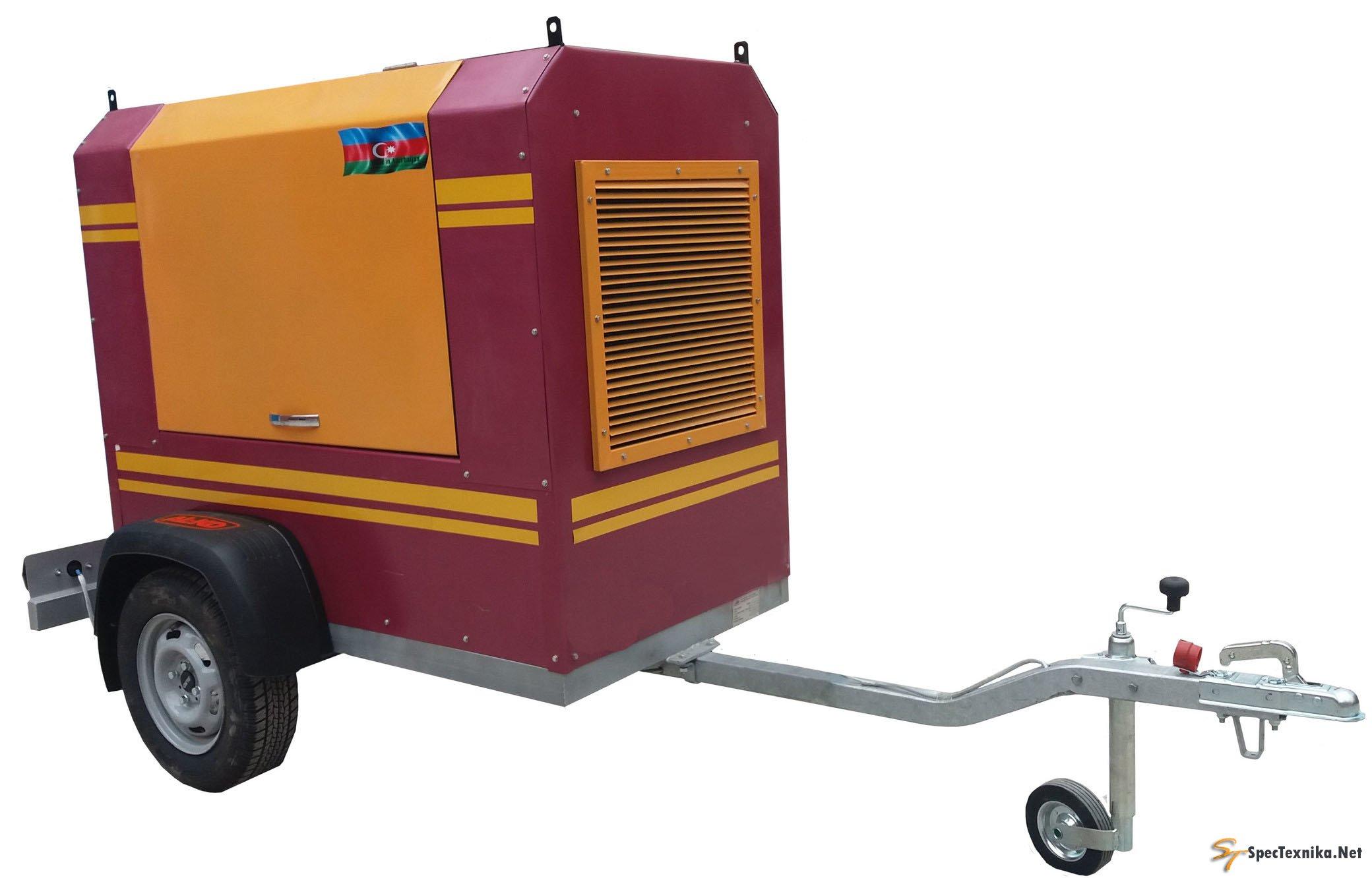 Агрегат сварочный передвижной АДД-400ПС1